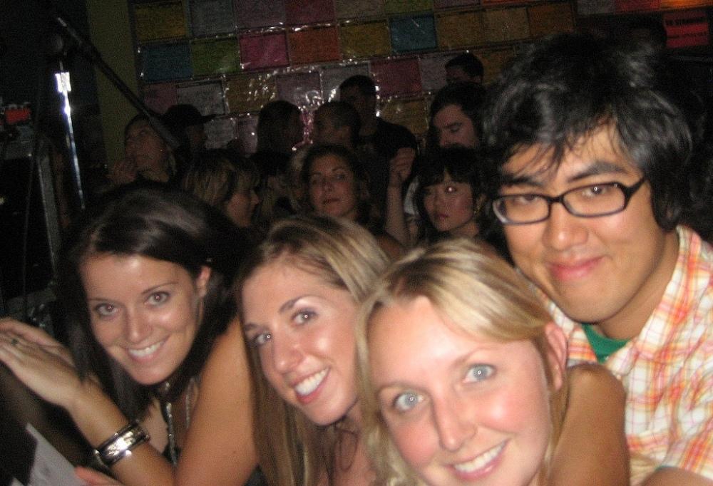 Concert Buddies: Lindsey, Katie, Elena, Nick