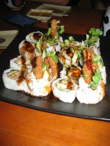 spider roll = deliciousity