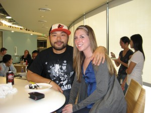 me + my Dave Choi