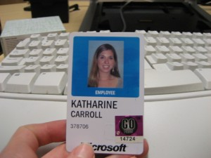 No More MSFT Badge